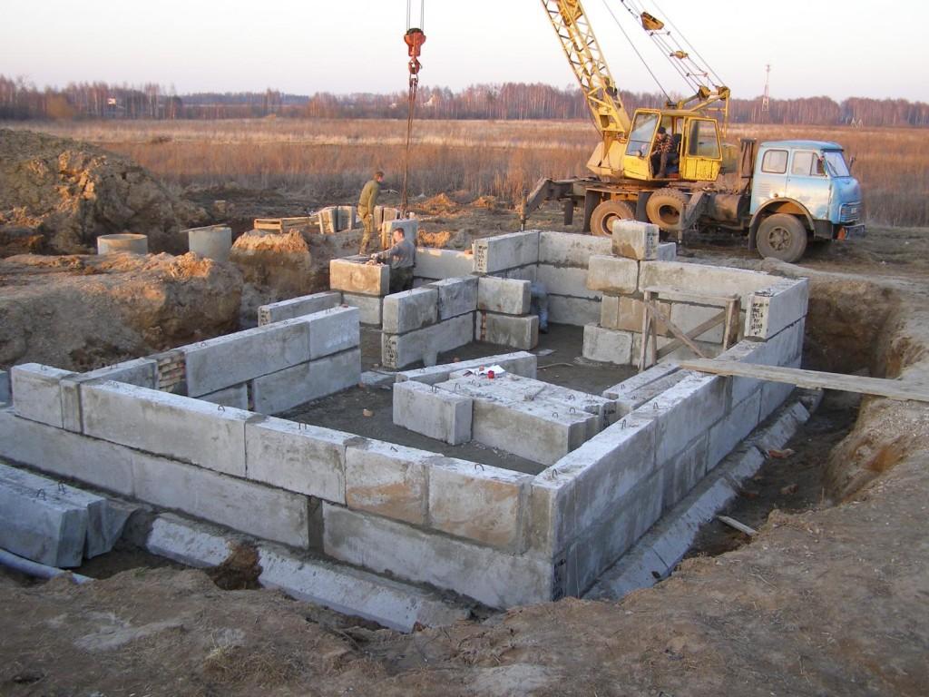 пошаговая инструкция кладки блоков