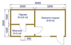 Проектирование бани 6х3