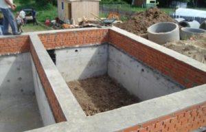 Заглубленный ленточный фундамент для бани