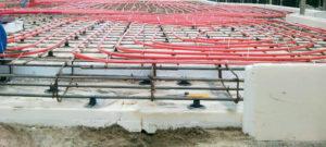 Этапы строительства УШП